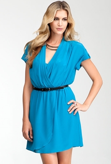 Picture of Blue Casual Dress